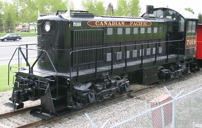 CPR S2 7019 at Heritage Park in Calgary