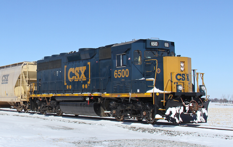 CSX 810 action photo here