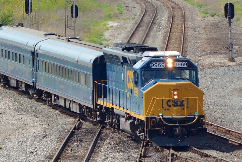 csx motive power